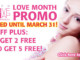 Our Love Month Promo!